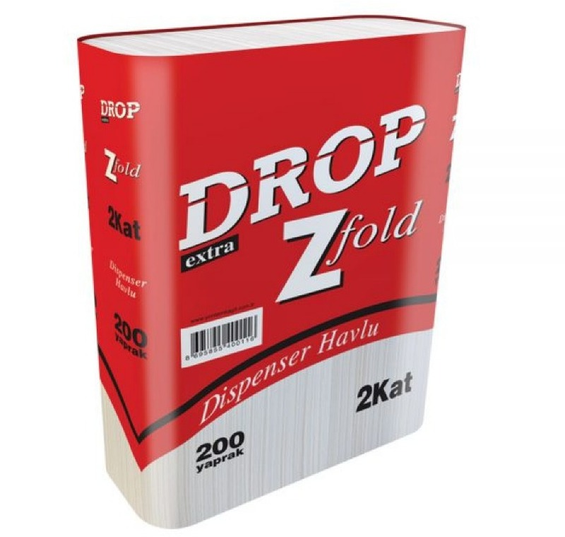 DROP Z KATLI DİSPENSER HAVLU